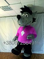 Надувной костюм Серый волк
