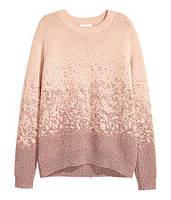 Пудровый свитер с люрексом,  в наличии S М , фото 1