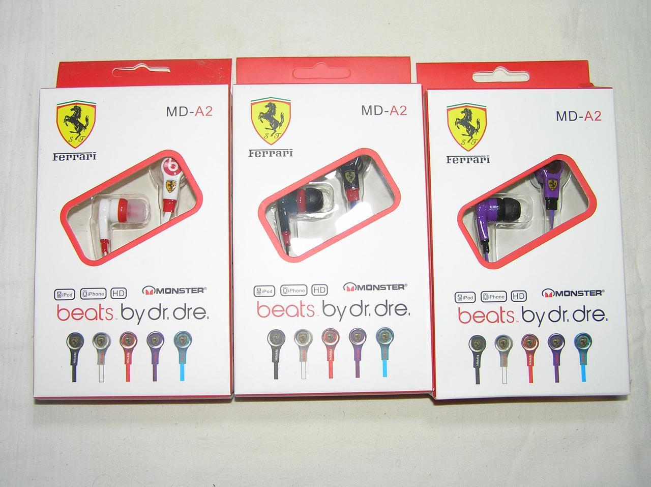 Наушники Вакуумные MD-A2 цветные в упаковке