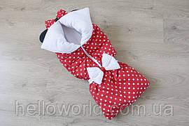 """Конверт-одеяло на молнии """"Минни Маус"""" для девочки"""