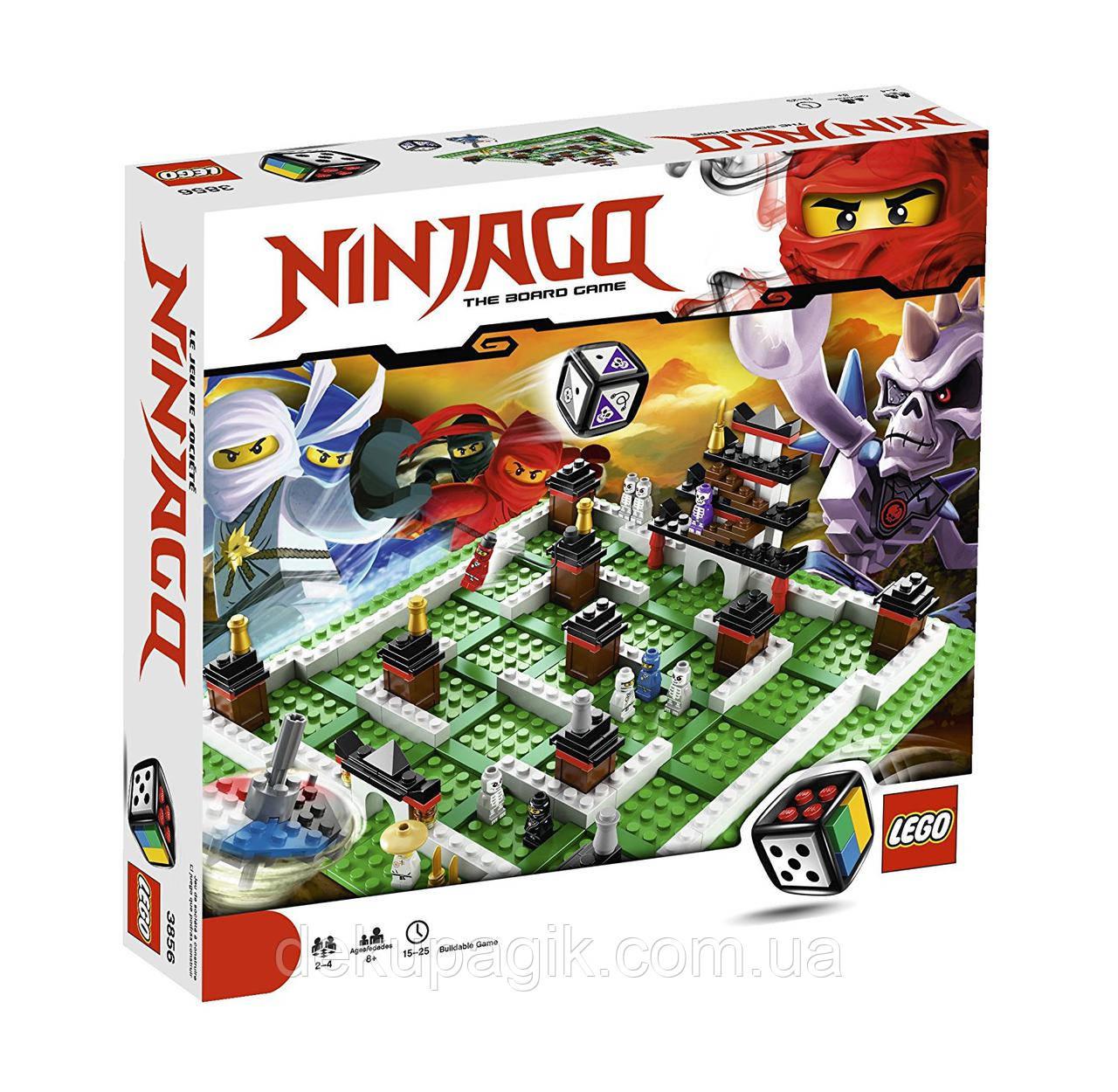 Lego Games Настольная игра Лего Ниндзяго 3856
