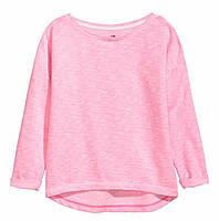 Розовый неоновый свитшот H&M , в наличии XS S, фото 1
