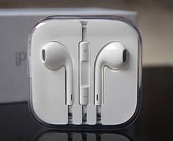 Наушники Apple earpods (SE, 4, 4S, 5, 5S, 6, 6S)