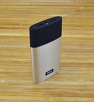 Аккумулятор для телефона Повербанк, Power Bank  Remax RPP-27 Золотой 10000 MAH