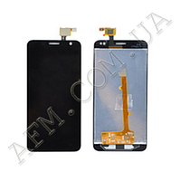 Дисплей (LCD) Alcatel 6012D Idol Mini/  6012X с сенсором чёрный