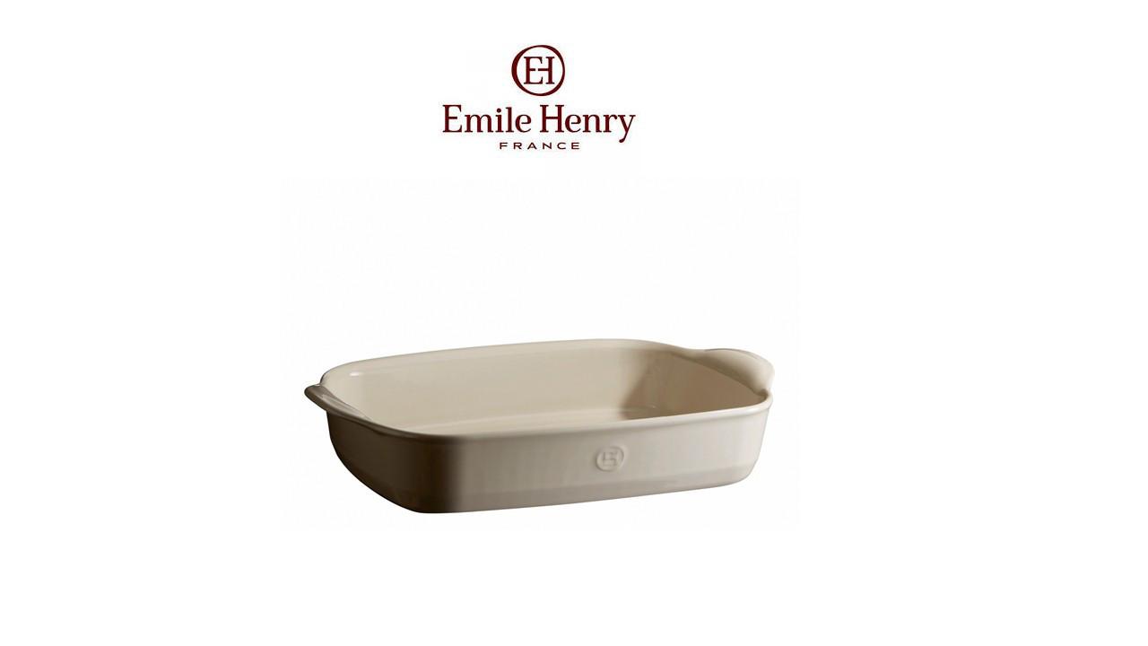 Форма для запекания Emile Henry 36x23 см (029652) Белая