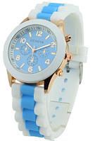 Часы наручные женские GENEVA sport Голубые