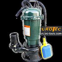 Насос с поплавком выгребной Eurotec PU 205, 40-75 мм, дренажный чугунный для грязной воды, ям, фекальный