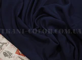 Тканина штапель темно-синій