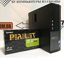 Компьютер Dell 790 DT, Intel Core i3-3220 3.3GHz, RAM 8ГБ, SSD 120ГБ, HDD 320ГБ, GeForce GT 1030 2ГБ