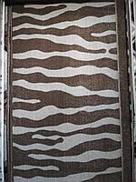 Ковер коричневый,полоска,2.00х3.00 м.