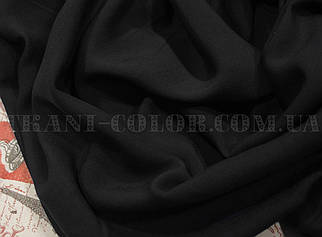 Тканина штапель чорний