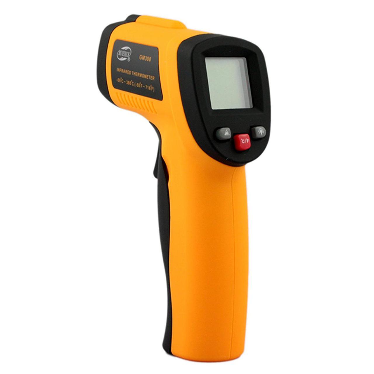Пирометр инфракрасный с лазерным указателем Benetech GM550