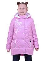Детская демисезонная куртка Руся для девочки (рост 116-140)