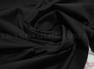 Рубашечная ткань черная