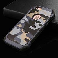 Чехол Military для iPhone 5 / 5s бампер оригинальный Blue
