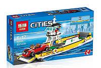"""Конструктор Lepin 02045аналог LEGO City Cити 60119 """"Паром"""", 337деталей"""