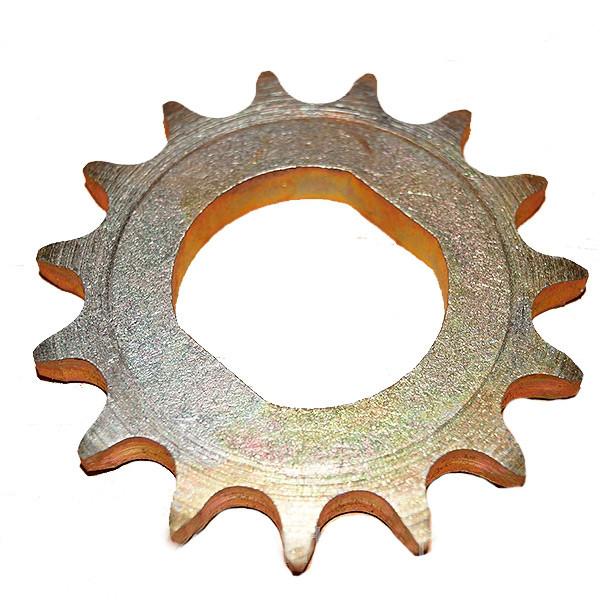 Звездочка колеса приводного (z=15, t=15.875) СУПН-8,СУПН-8А,УПС,КРН,ВЕГА