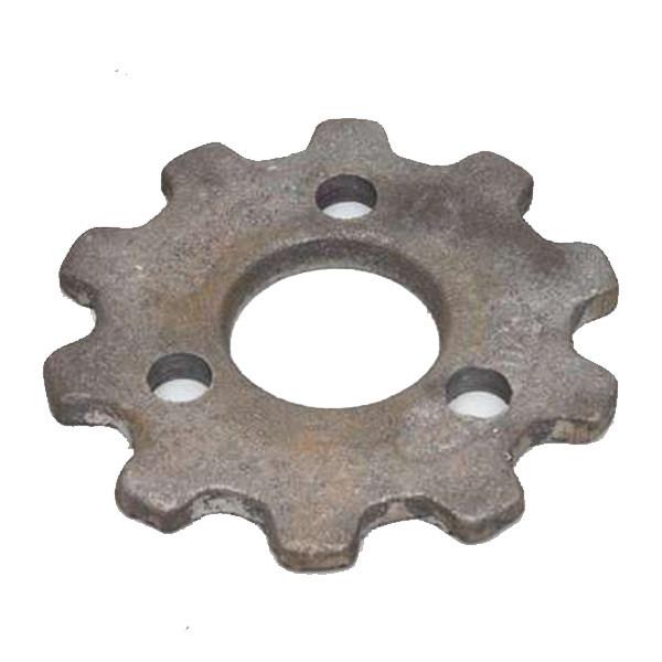 Звездочка колеса опорно-приводного (z=10, t=31.75) (голая) КРН