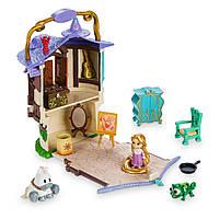 Игровой набор Рапунцель Disney Animators' Collection Littles Rapunzel Micro Doll Play Set - 2''