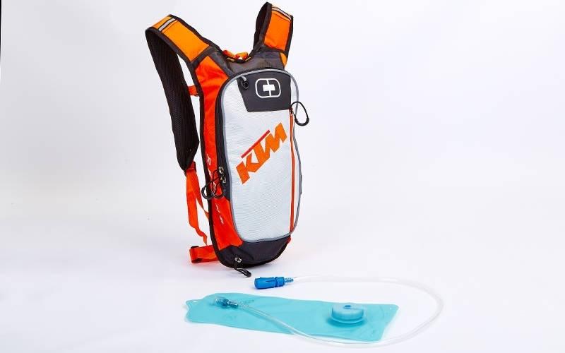 Рюкзак KTM с гидратором (черно-белый)