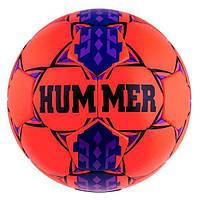 Мяч футбольный DXN White Hummer Red/Blue. Распродажа!