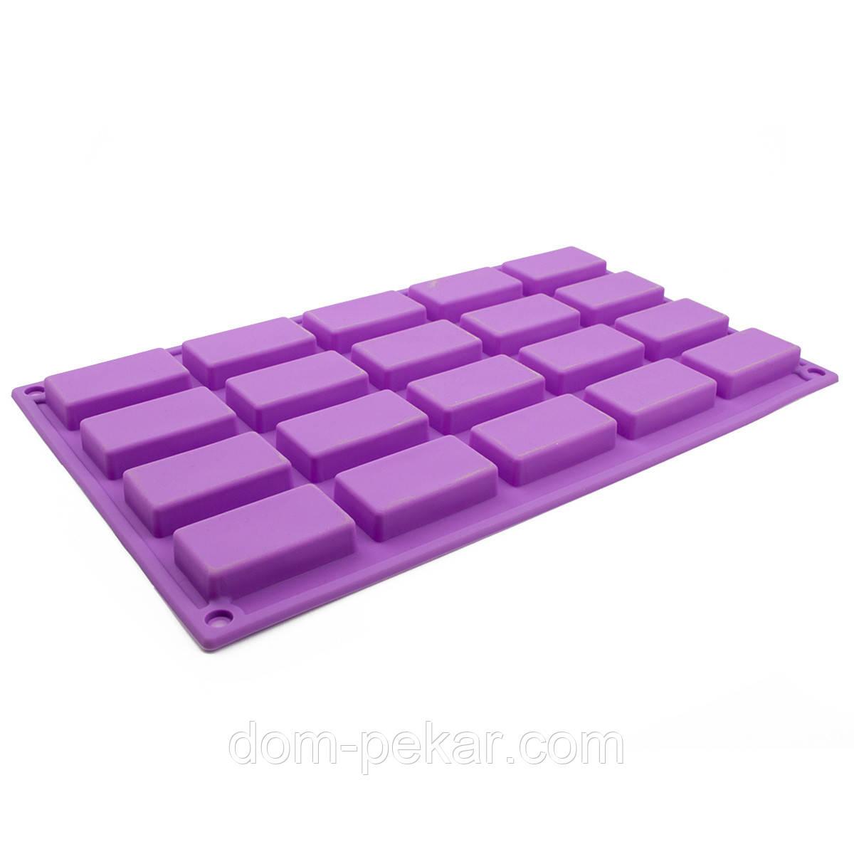 Форма для конфет и десертов Плиточки 20 шт