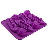 Форма для конфет Морской бой 8 шт
