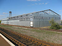 Строительство складов в  Донецке