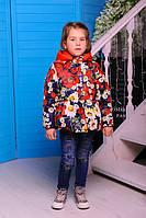 Красивая демисезонная куртка весна-осень для девочки 24, 26, 28, 30 размер.Детская верхняя одежда!