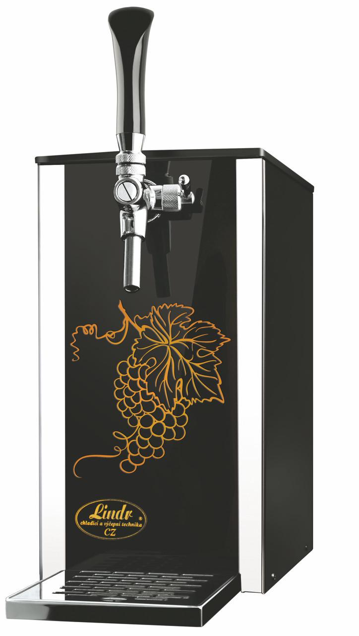 Аппарат розлива напитков для домашнего бара Pygmy 25/K Exclusive, с насосом, 1 кран, Lindr, Чехия