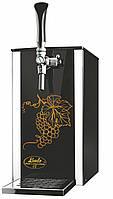 Охладитель надстоечный для вина 25 л/ч сухой - Pygmy 25/K Exclusive, с насосом, 1 кран, Lindr, Чехия