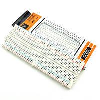 Макетная плата, Breadboard 830 пинов контактов Arduino