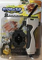Супер!!! Герой Tornado из серии BeyBlade, игрушка волчок, Бэйблэйд + пусковой механизм, фото 1