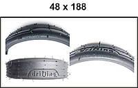 Шина (покрышка) для коляски 48 х 188, камера 48 х 188