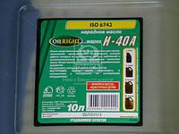Масло индустриальное OIL RIGHT И-40А (Канистра 10л) 2595, ACHZX