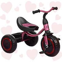 Трехколёсный велосипед с подсветкой колесTurbotrike M 3649-M-1 Пурпурный