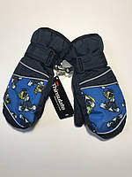 Термо варежки-краги рукавицы Thinsulate на мальчика 5-8 лет