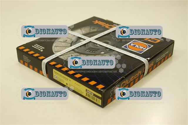 Диск сцепления ведомый 406 дв HOLA 24D18 (фередо) ГАЗ-2217 (Соболь) (4063.1601130)
