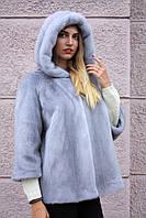 """Полушубок из голубой норки """"Камелия"""" Nafa mink furcoat jacket"""
