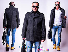 Классическое пальто Энтони 44-56 р( драп) евро зима