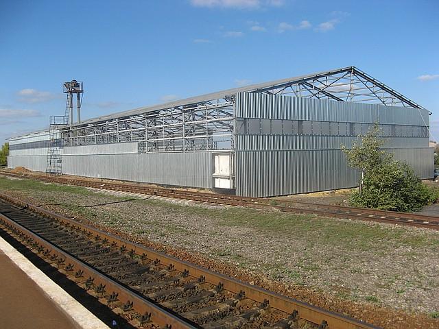 Строительство складов в Луганске