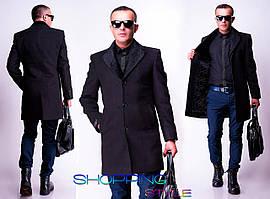 Классическое кашемировое пальто Сержио 44-56 р
