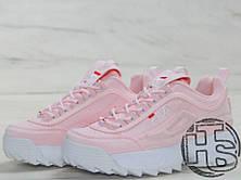 Женские кроссовки Fila Disruptor II 2 Suede Pink, фото 2