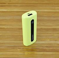 Внешний аккумулятор Повербанк,  PowerBank Original Remax Proda E5\RPL-15 ЖЕЛТЫЙ  5000 mAh