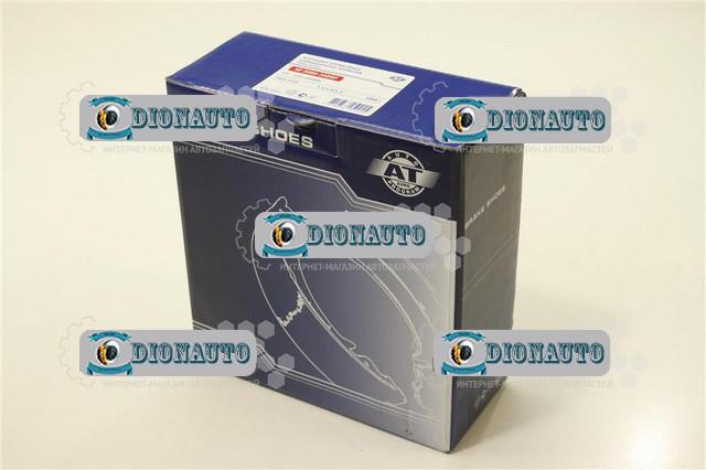 Колодка задняя тормозная Таврия, 1102, 1103, 1105 AT к-т ЗАЗ 1102 (Таврия) (1102-3502090)