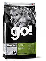 Сухой беззерновой корм «Go! С индейкой» (для собак и щенков с чувствительным пищеварением) 11,35кг