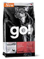 Сухой беззерновой корм «Go! Со свежим лососем» (для собак и щенков с чувствительным пищеварением) 11,34кг