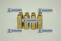 Втулка клапана 2108, 2109, 21099 АвтоВАЗ (станд латунь) комплект 8шт (направляющая) Москвич-2141 (2101-1007032-22)
