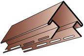 Кут зовнішній Альта-Профіль для сайдинга Блок-хаус (3,05 м)